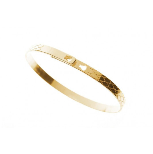 Scale lock bangle