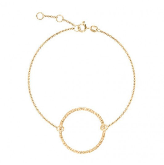 Chain bracelet with ring