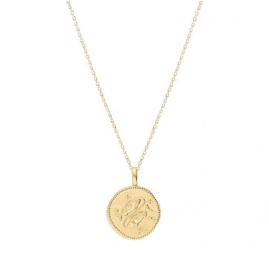 Chain necklace with astrological sign