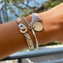 Liberty bracelet with 925 silver medal