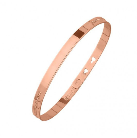 Message and line lock bangle