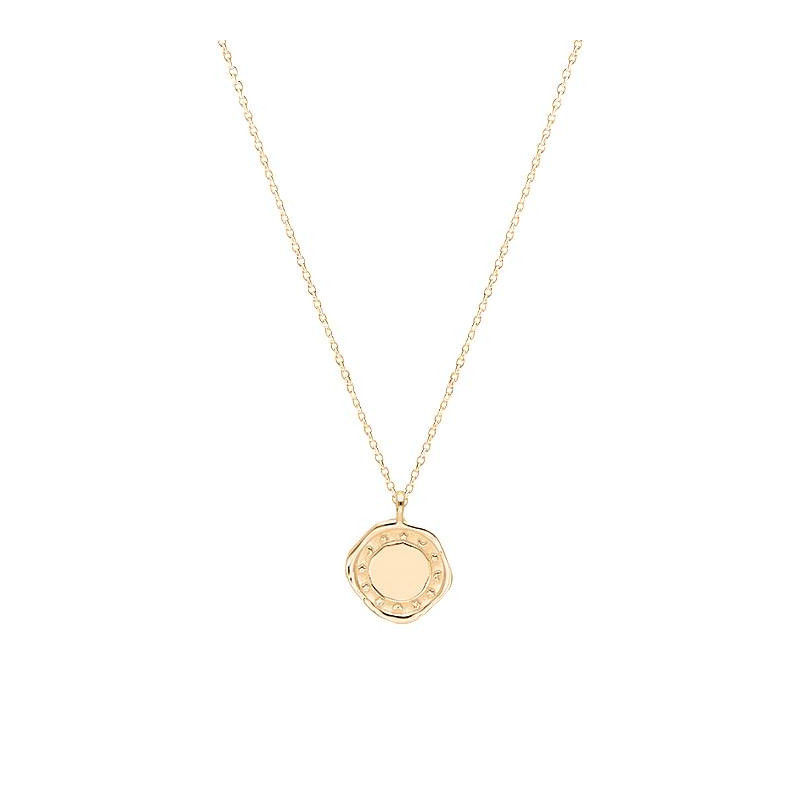 Gold-plated Cosmo necklace