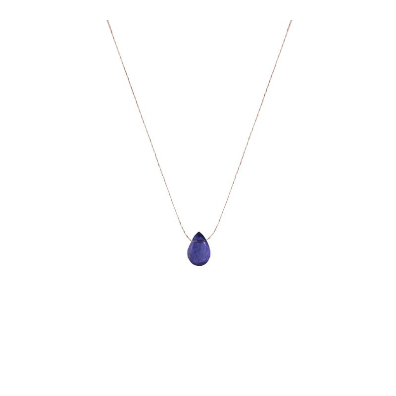 COLLIER GOUTTE KYANITE