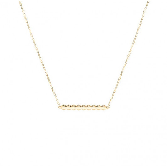 Mosaic chain necklace