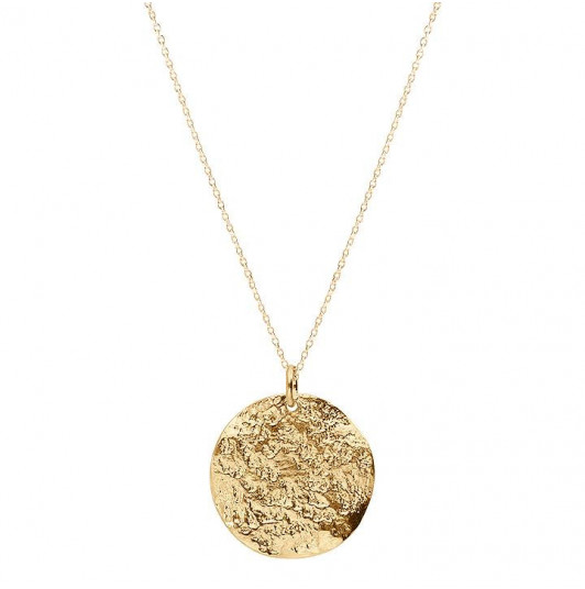 Atlas medal chain necklace