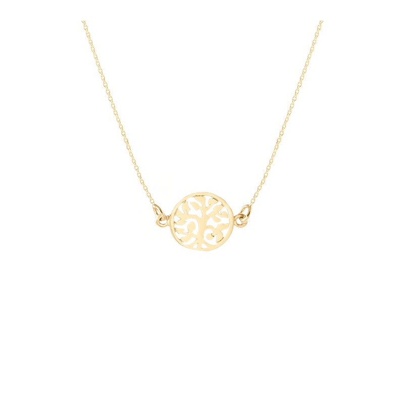 Small tree of life chain necklace - L'Atelier d'Amaya