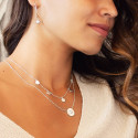 925 Silver white turquoise Calypso necklace