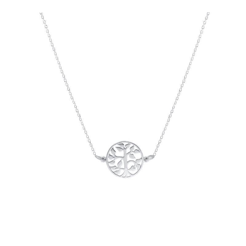 Chain necklace with tree of life