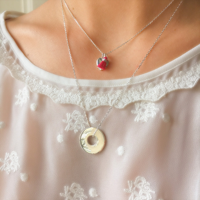 COLLIER CHAINE CIBLE