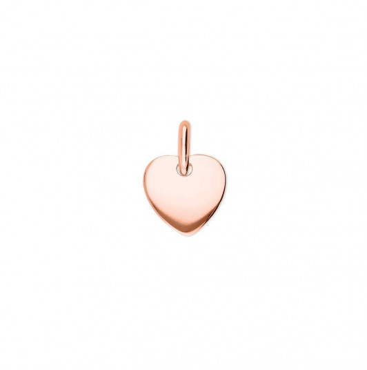 Little curved heart medal