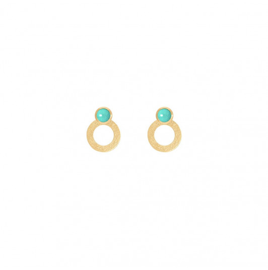 Amazonite Ambrosia earrings