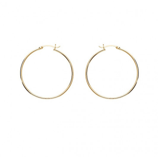 4cm Hoop earrings