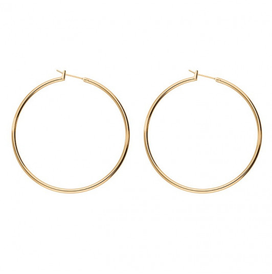 5 cm hoop earrings