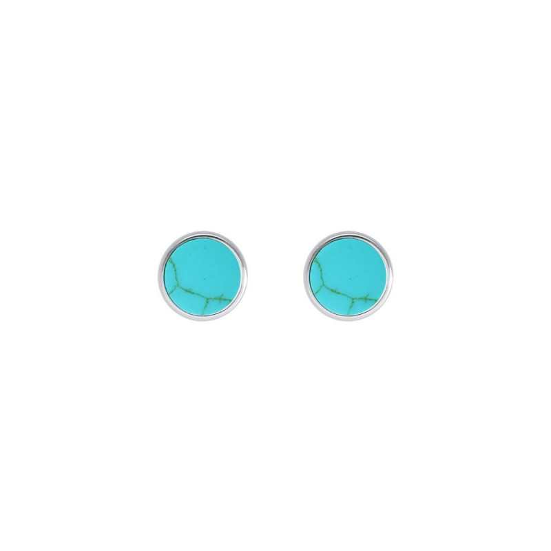 925 Silver Turquoise stud earrings