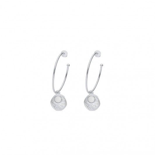 925 Silver white turquoise Melia earrings