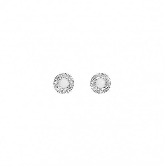 White turquoise Lara earrings