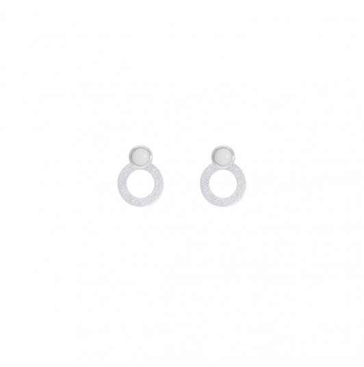 925 Silver white turquoise Ambrosia earrings
