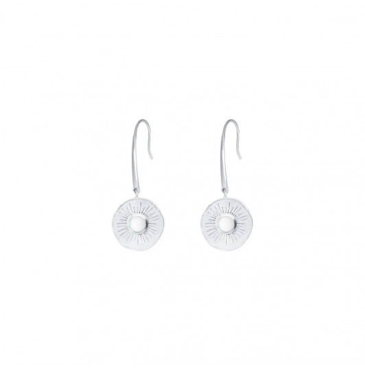 White turquoise Clio earrings