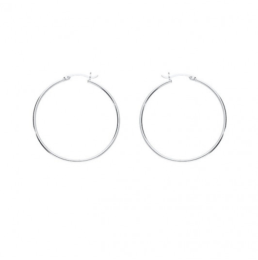 4 cm Hoop earrings