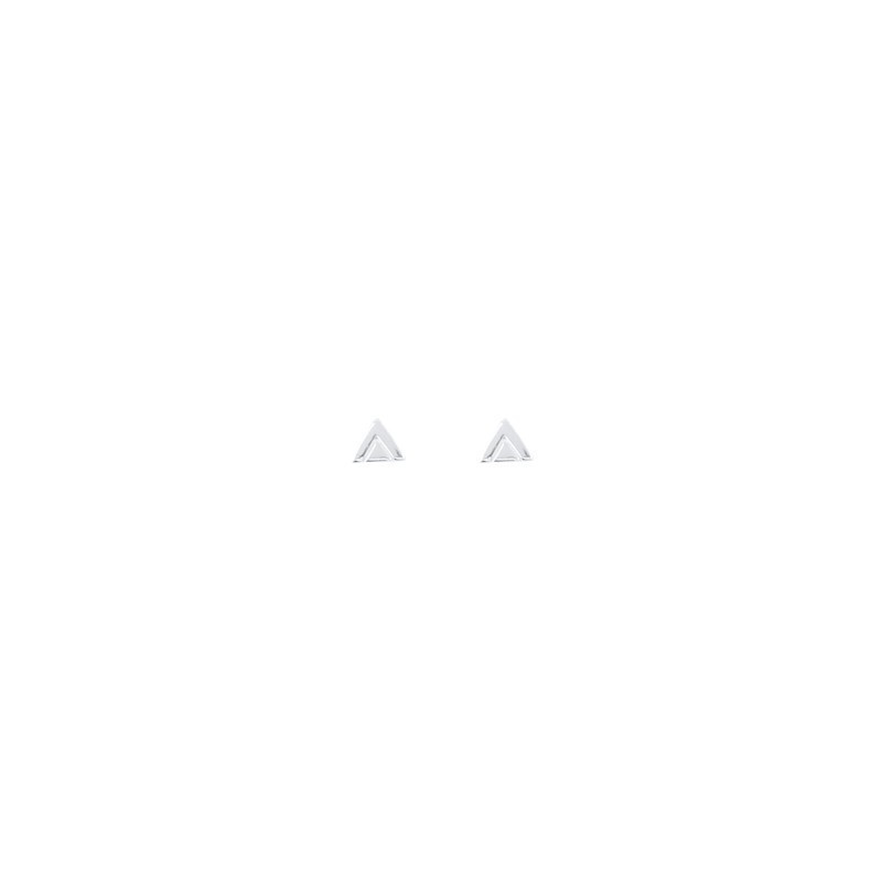 Small ethnic triangles earrings