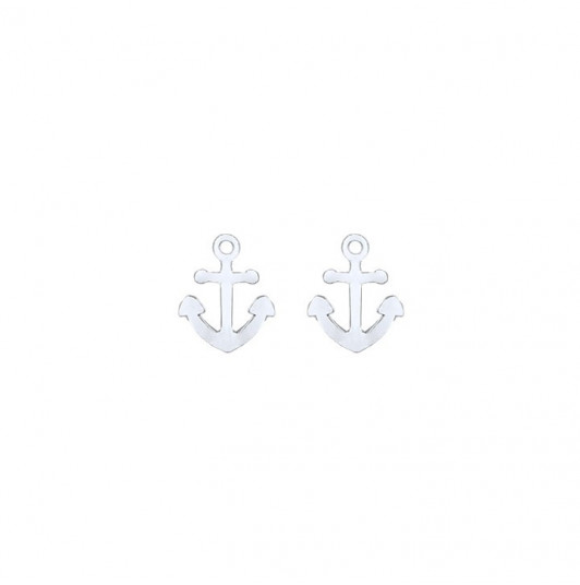 Anchors earrings for children
